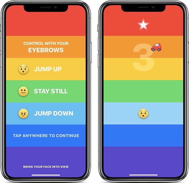 Двигай бровями чтобы победить — эксклюзив для iPhone X