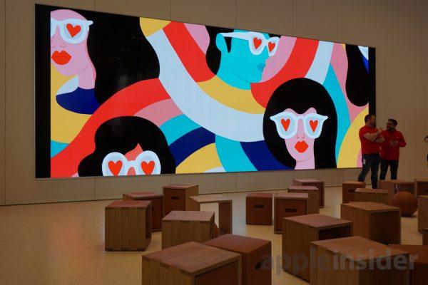 Первый взгляд на новый Apple Store в центре Бруклина