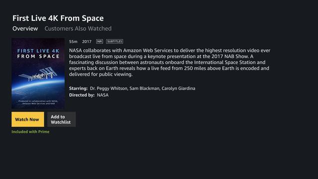 Amazon выпустила приложение Amazon Prime Video для Apple TV