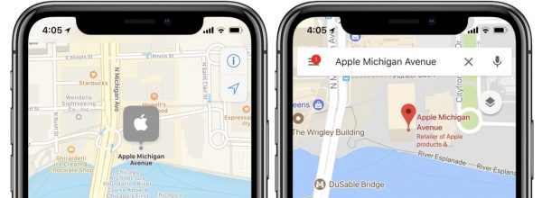 Google Maps теперь оптимизированы для iPhone X