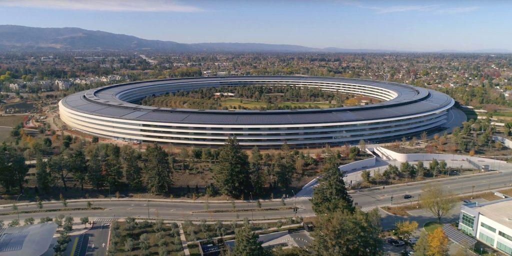 Apple Park все больше напоминает заповедник, о котором грезил Джобс
