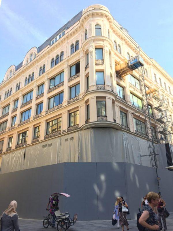 Apple Store в Вене почти готов к открытию