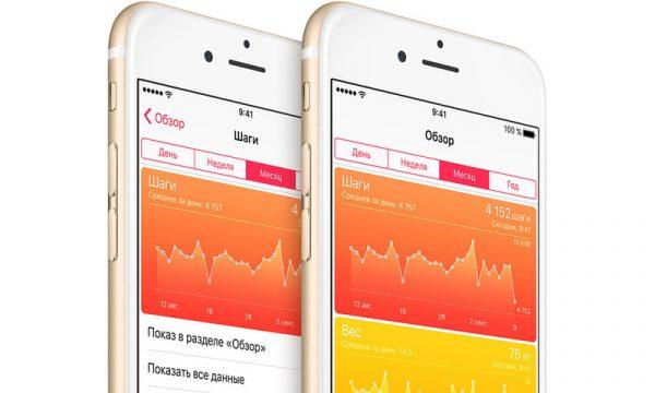 Приложение «Здоровье» на iPhone учитывает далеко не все шаги