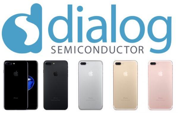 Слухи о производстве собственных полупроводников Apple, обвалили акции Dialog на 19%
