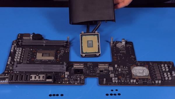 Специалисты разобрали базовую конфигурацию iMac Pro