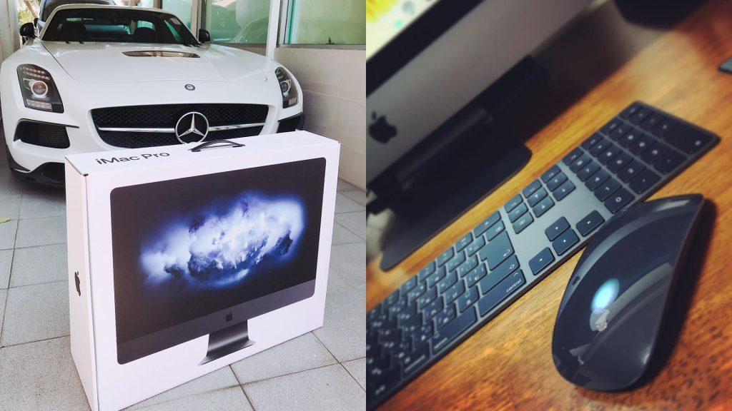 Первые обладатели iMac Pro уже хвастаются новинкой в Instagram