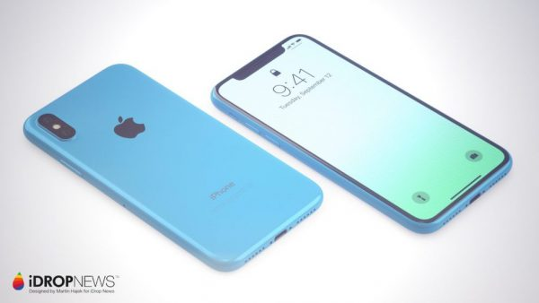 Концепт iPhone Xc — доступная версия iPhone X в ярких цветах