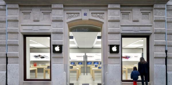 Из-за неисправного аккумулятора возникло задымление в еще одном Apple Store
