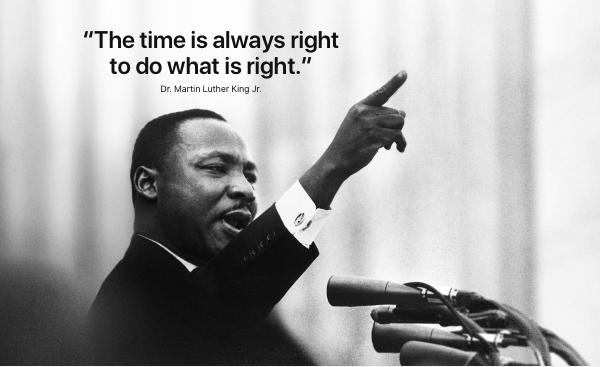 Apple не удалось отметить день Мартина Лютера Кинга без упреков