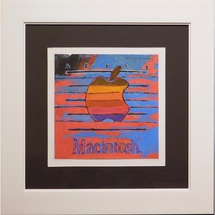 Логотип Apple Macintosh от Энди Уорхола выставили на аукцион