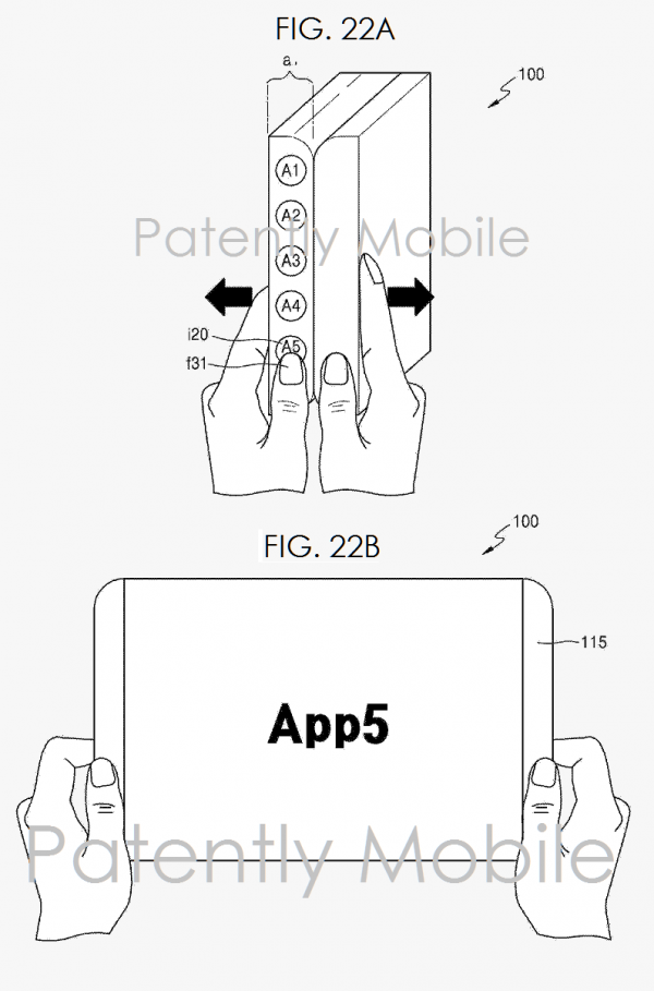 Samsung запатентовала устройства, которые можно гнуть, складывать и растягивать