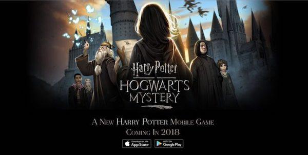 В сети появился трейлер новой мобильной игры про Гарри Поттера