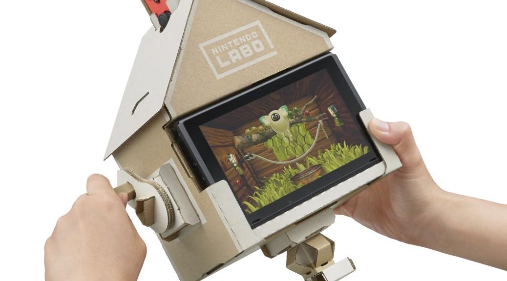 Nintendo Labo — здравствуй детство, мы по тебе скучали