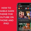 Как включить темную тему в приложении YouTube на iOS