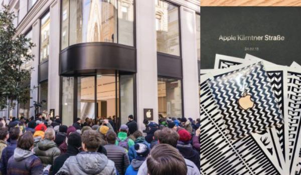 Каким получился первый Apple Store открылся в Австрии