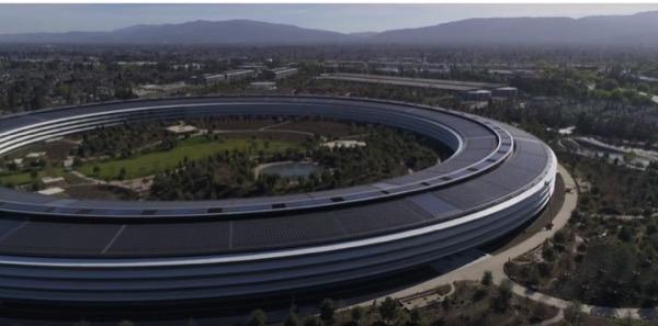 В сети появилось очередное видео со стройки Apple Park