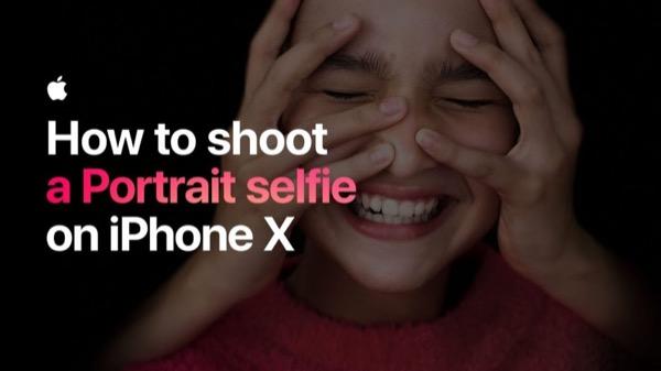 Apple научит пользоваться Live Photos и снимать портретные селфи – видео