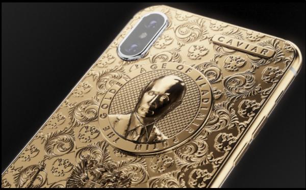 iPhone X с портретом Путина — новое творение ателье Caviar