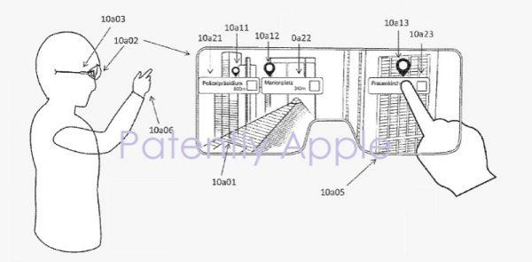 Apple запатентовала новые методы работы с дополненной реальностью