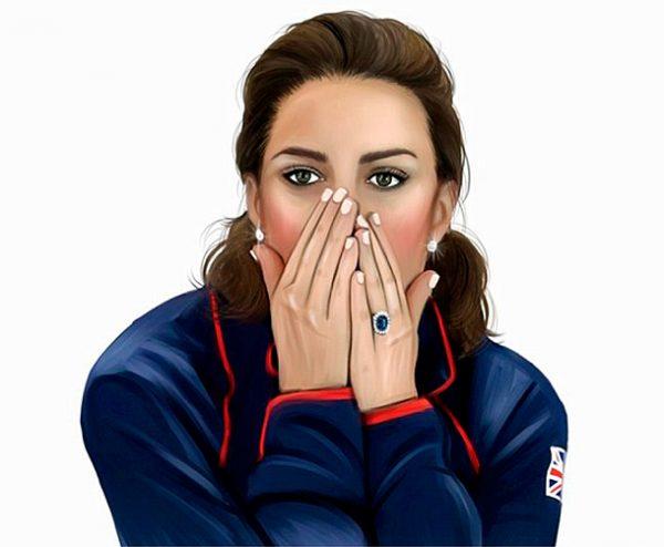 Избранницы британских принцев станут героинями emoji