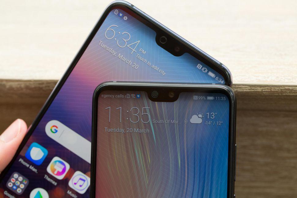 Huawei придумала, как замаскировать монобровь P20