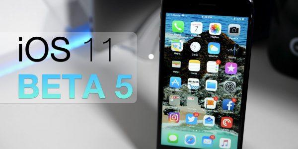Apple выпустила iOS 11.3 бета 5 для iPhone и iPad
