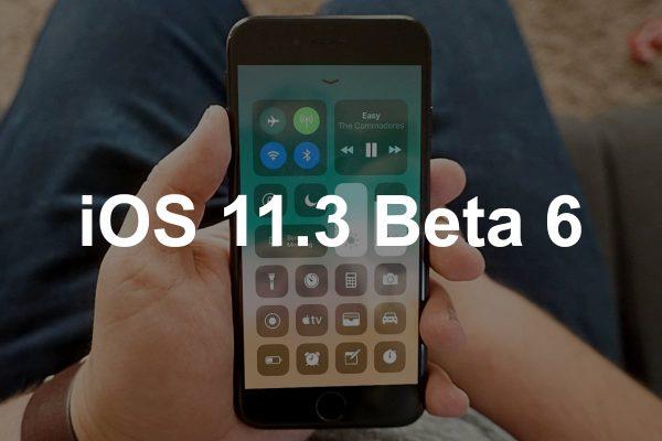 Apple выпустила iOS 11.3 Beta 6 для разработчиков
