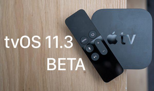 Вышла пятая бета-версия tvOS 11.3