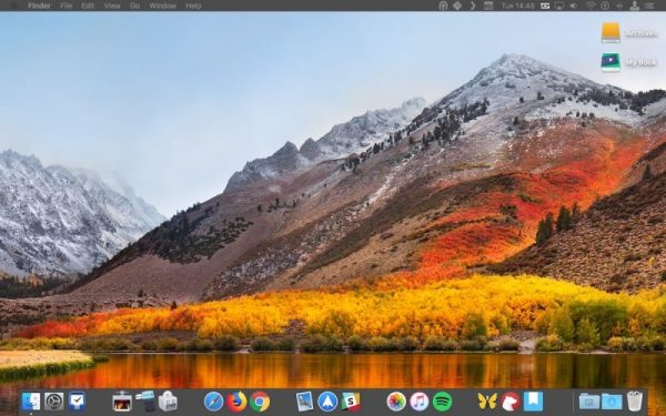 Как добавить пробел в док с приложениями на macOS
