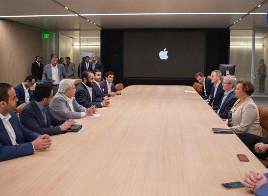 Apple примет участие в создании учебной программы для Саудовской Аравии