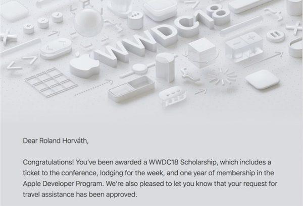 Apple рассылает приглашения стипендиатам WWDC 2018