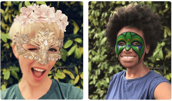 В Snapchat появились эксклюзивные маски для iPhone X