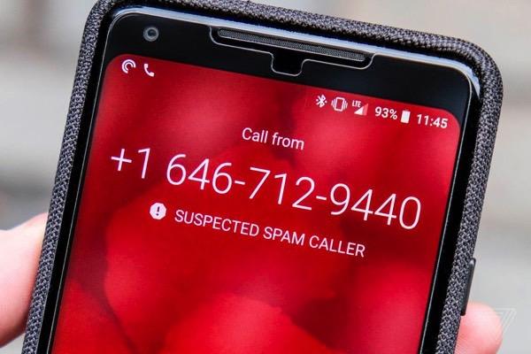 Google Pixel будут автоматически блокировать спам-звонки