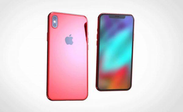 Как будет выглядеть (PRODUCT)RED iPhone X