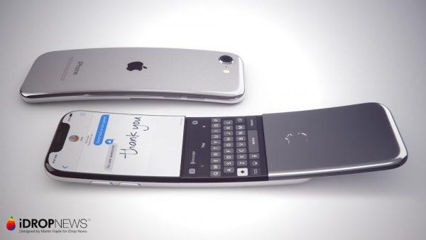 Как может выглядеть изогнутый iPhone