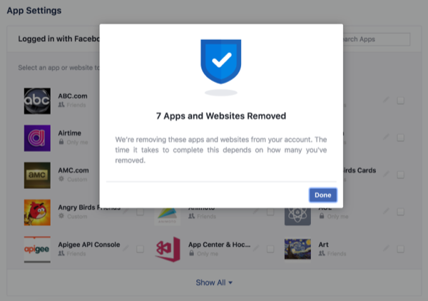 Соцсеть Facebook предоставила пользователям новый инструмент для удаления персональных данных