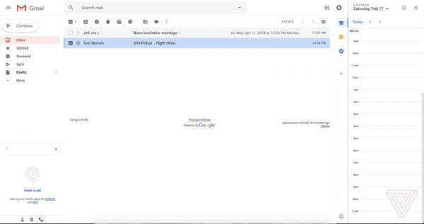 Google представила новый дизайн Gmail