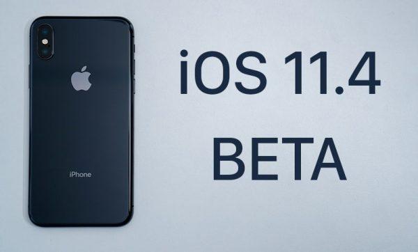 Вышла вторая бета-версия iOS 11.4
