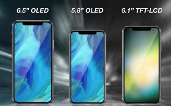 В сети появилась неподтвержденная информация о стоимости iPhone 2018 года