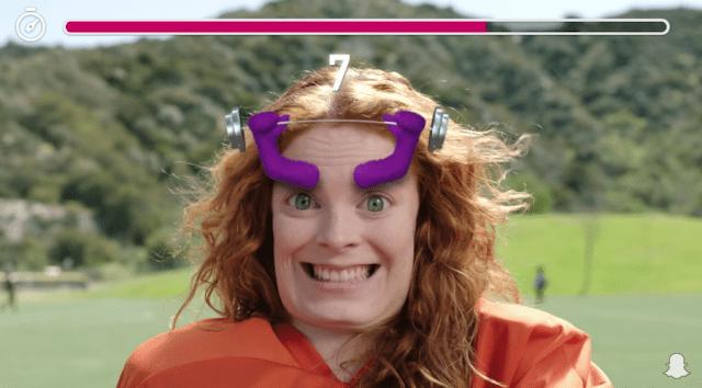 Теперь в Snapchat можно будет поиграть в AR-игры –видео