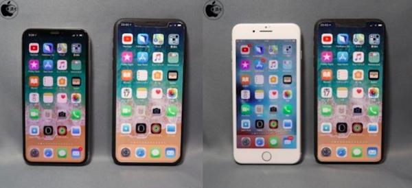 В iPhone X Plus появится горизонтальный режим, а размер его корпуса будет сопоставим с iPhone 8 Plus