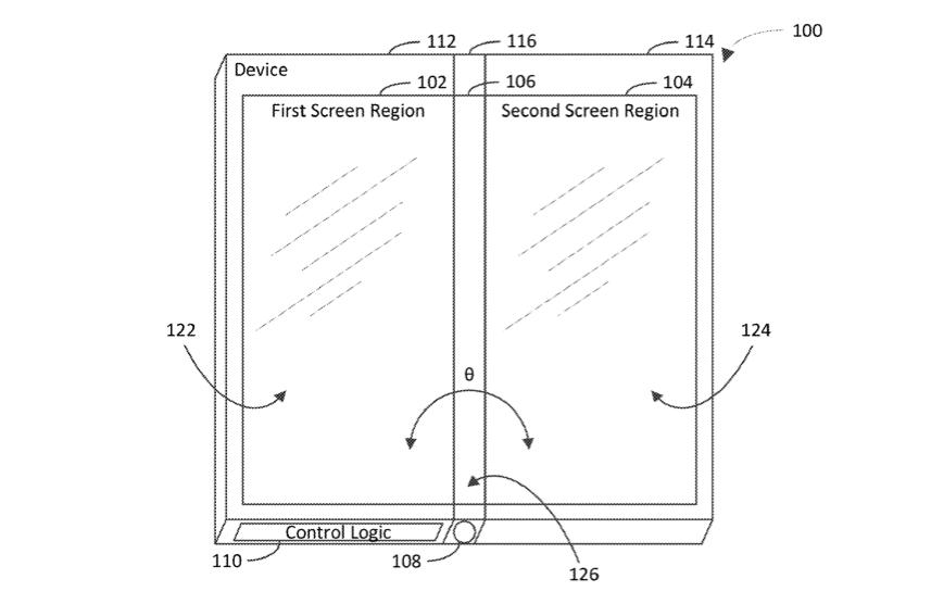 Microsoft придумала смартфон с тремя складывающимися дисплеями
