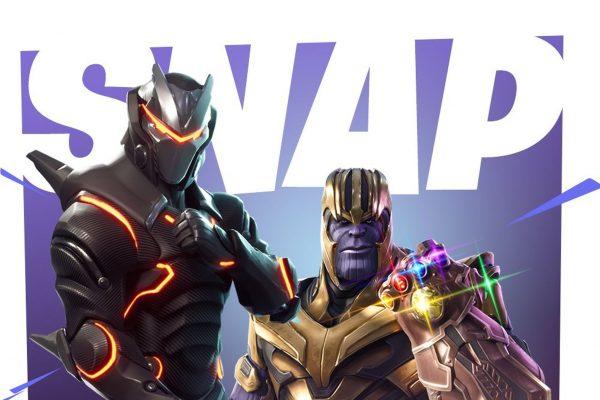 Танос появится в игре Fortnite
