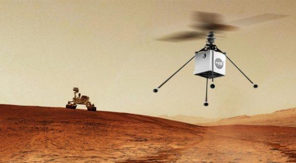 NASA отправит на Марс вертолёт