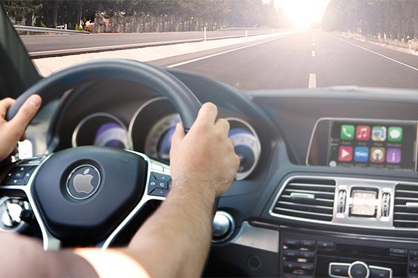 По Калифорнии уже ездят 55 автомобилей с тестовым беспилотником Apple