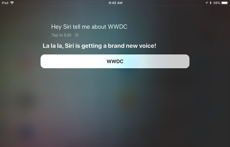 Siri рассказала о смене голоса и новом HomePod
