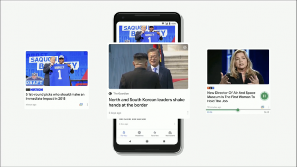 Google полностью переделала приложение News