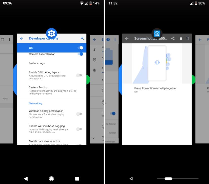Google скопировала жесты управления iPhone X