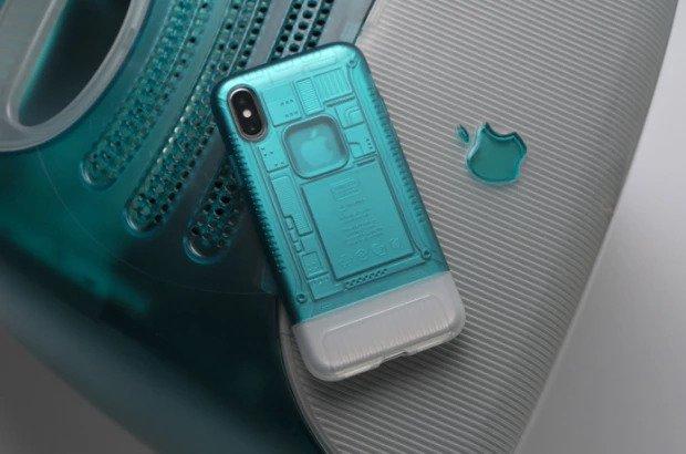Spigen выпускает чехлы для iPhone X в стиле iPhone 2G и iMac G3