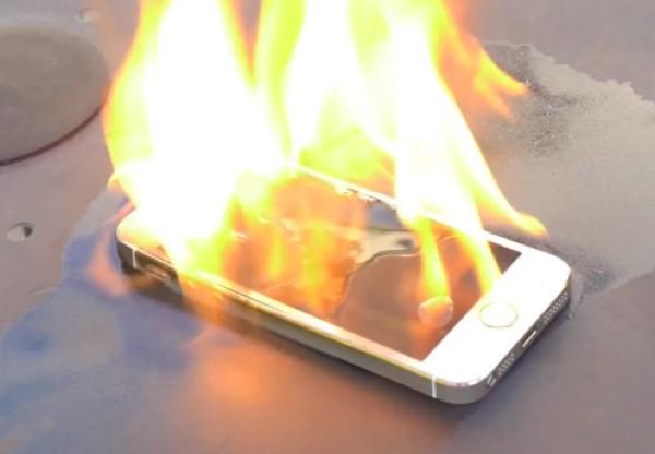 iPhone стал причиной возгорания в Лас-Вегасе
